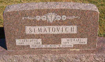 SIMATOVICH, CATHERINE - Black Hawk County, Iowa | CATHERINE SIMATOVICH