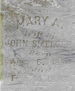 SMELSER, MARY A. - Black Hawk County, Iowa | MARY A. SMELSER
