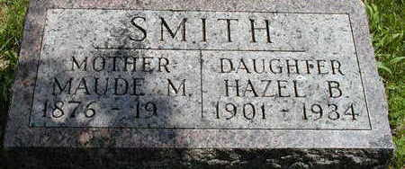 SMITH, MAUDE M. - Black Hawk County, Iowa | MAUDE M. SMITH