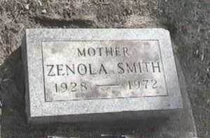 SMITH, ZENOLA - Black Hawk County, Iowa | ZENOLA SMITH