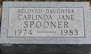 SPOONER, CARLINDA JANE - Black Hawk County, Iowa | CARLINDA JANE SPOONER