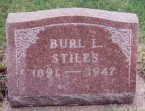 STILES, BURL L. - Black Hawk County, Iowa | BURL L. STILES