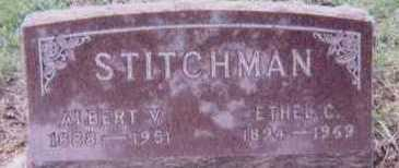 STITCHMAN, ALBERT - Black Hawk County, Iowa | ALBERT STITCHMAN