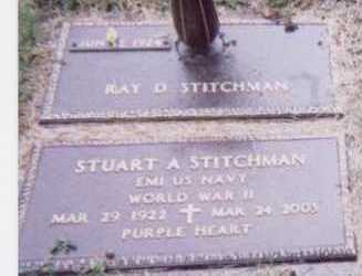 STITCHMAN, RAY D. - Black Hawk County, Iowa | RAY D. STITCHMAN
