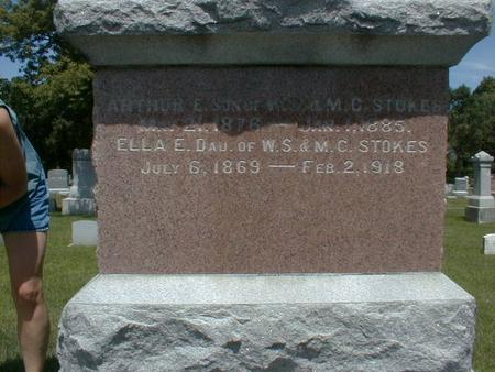 STOKES, ELLA - Black Hawk County, Iowa | ELLA STOKES
