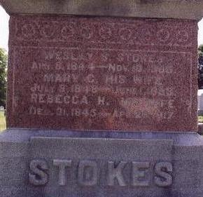 GRIGSBY STOKES, MARY CATHERINE - Black Hawk County, Iowa | MARY CATHERINE GRIGSBY STOKES