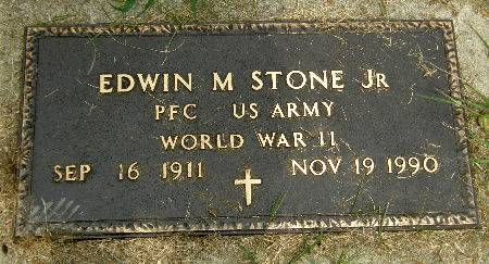 STONE, EDWIN M. JR. - Black Hawk County, Iowa | EDWIN M. JR. STONE