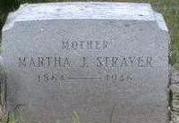 STRAYER, MARTHA - Black Hawk County, Iowa | MARTHA STRAYER