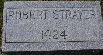 STRAYER, ROBERT - Black Hawk County, Iowa | ROBERT STRAYER