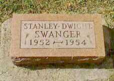SWANGER, STANLEY DWIGHT - Black Hawk County, Iowa | STANLEY DWIGHT SWANGER