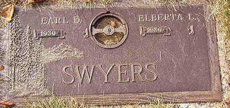 SWYERS, ELBERTA L. - Black Hawk County, Iowa | ELBERTA L. SWYERS