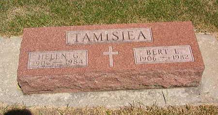 TAMISIEA, HELEN G. - Black Hawk County, Iowa | HELEN G. TAMISIEA