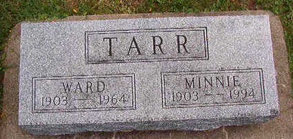 TARR, MINNIE - Black Hawk County, Iowa | MINNIE TARR