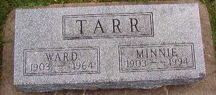 TARR, WARD - Black Hawk County, Iowa | WARD TARR