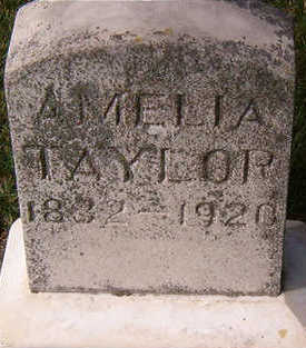 TAYLOR, AMELIA - Black Hawk County, Iowa | AMELIA TAYLOR