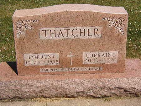 THATCHER, LORRAINE - Black Hawk County, Iowa | LORRAINE THATCHER