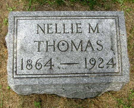 THOMAS, NELLIE M. - Black Hawk County, Iowa | NELLIE M. THOMAS