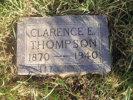 THOMPSON, CLARENCE E - Black Hawk County, Iowa | CLARENCE E THOMPSON