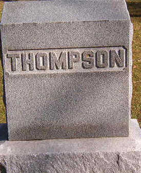THOMPSON, FAMILY STONE - Black Hawk County, Iowa | FAMILY STONE THOMPSON