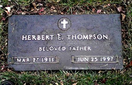 THOMPSON, HERBERT EUGENE - Black Hawk County, Iowa | HERBERT EUGENE THOMPSON