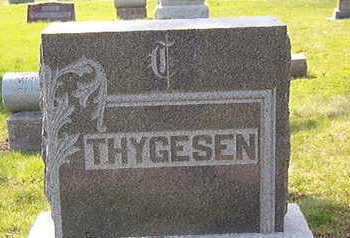 THYGESEN, FAMILY STONE - Black Hawk County, Iowa | FAMILY STONE THYGESEN