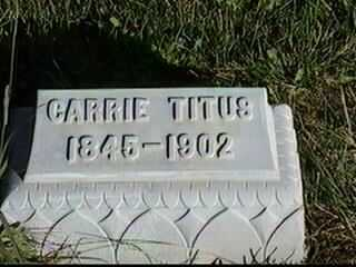 TITUS, CARRIE - Black Hawk County, Iowa | CARRIE TITUS