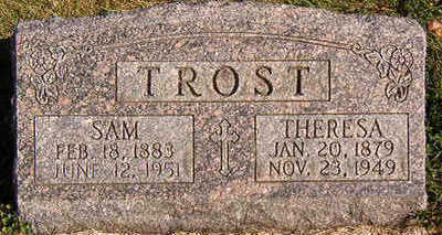 TROST, THERESA - Black Hawk County, Iowa | THERESA TROST