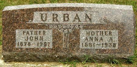 URBAN, JOHN - Black Hawk County, Iowa | JOHN URBAN