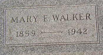 WALKER, MARY E. - Black Hawk County, Iowa | MARY E. WALKER