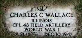 WALLACE, CHARLES C. - Black Hawk County, Iowa | CHARLES C. WALLACE