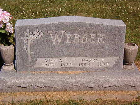 WEBBER, HARRY J. - Black Hawk County, Iowa | HARRY J. WEBBER