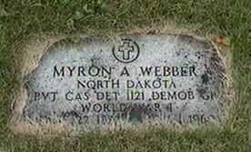 WEBBER, MYRON A. - Black Hawk County, Iowa | MYRON A. WEBBER