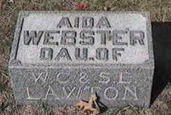 WEBSTER, AIDA - Black Hawk County, Iowa | AIDA WEBSTER