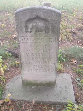 WEBSTER, JAMES E - Black Hawk County, Iowa | JAMES E WEBSTER