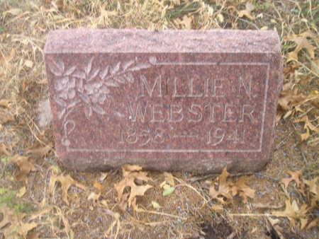 WEBSTER, MILLIE N. - Black Hawk County, Iowa | MILLIE N. WEBSTER
