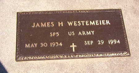 WESTEMEIER, JAMES H. - Black Hawk County, Iowa | JAMES H. WESTEMEIER