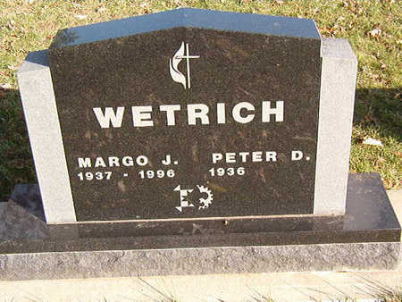 WETRICH, PETER D. - Black Hawk County, Iowa | PETER D. WETRICH