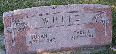 WHITE, SUSAN F. - Black Hawk County, Iowa | SUSAN F. WHITE