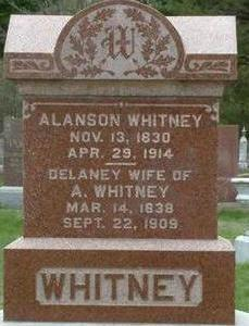 WHITNEY, ALANSON - Black Hawk County, Iowa | ALANSON WHITNEY