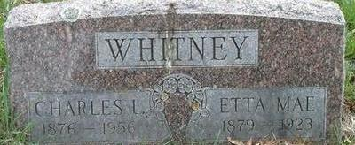 WHITNEY, CHARLES L. - Black Hawk County, Iowa | CHARLES L. WHITNEY