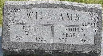 WILLIAMS, W.J. - Black Hawk County, Iowa | W.J. WILLIAMS