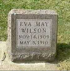 WILSON, EVA MAY - Black Hawk County, Iowa | EVA MAY WILSON