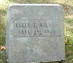WILSON, ELLIS E. - Black Hawk County, Iowa | ELLIS E. WILSON