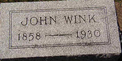 WINK, JOHN - Black Hawk County, Iowa | JOHN WINK