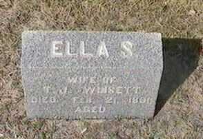WINSETT, ELLA S. - Black Hawk County, Iowa | ELLA S. WINSETT