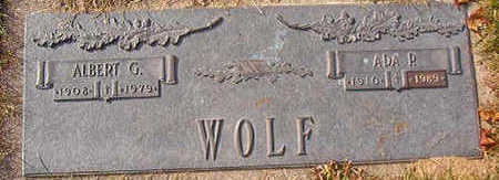 WOLF, ALBERT G. - Black Hawk County, Iowa | ALBERT G. WOLF