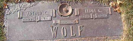 WOLF, LYDIA C. - Black Hawk County, Iowa | LYDIA C. WOLF