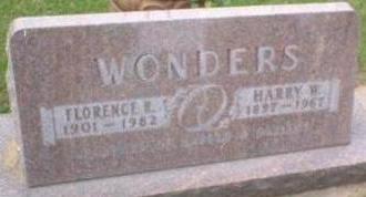 WONDERS, FLORENCE - Black Hawk County, Iowa | FLORENCE WONDERS