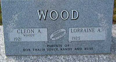 WOOD, CLEON A. - Black Hawk County, Iowa | CLEON A. WOOD