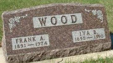 WOOD, FRANK ARTHUR - Black Hawk County, Iowa | FRANK ARTHUR WOOD